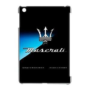Personalized Durable Cases ipad mini Case White Maserati Mjxsm Protection Cover