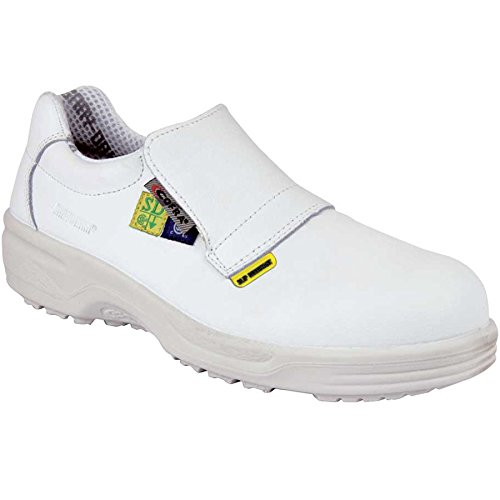 Cofra 76401-CU0.W08 Akron SD+ Safety Shoes, 8, White