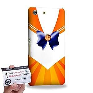 Case88 [Sony Xperia M5] 3D impresa Carcasa/Funda dura para & Tarjeta de garantía - Sailor (Series Moon) Venus Art9040