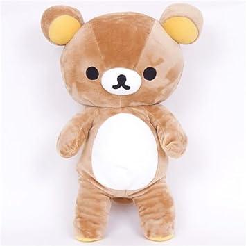 Gran muñeco de peluche kawaii oso marrón Rilakkuma