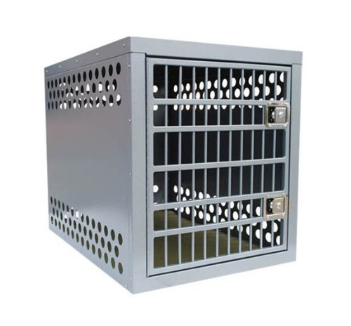 Zinger Winger HD5000 Heavy Duty 5000 Aluminum Dog Crate with Two Side Doors and Bonus eXtreme Dog Clicker/Whistle Kit