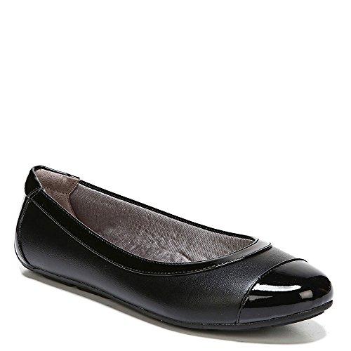 LifeStride Women's Soho Black/Black Patent Shoe - Velocity Womens Slip