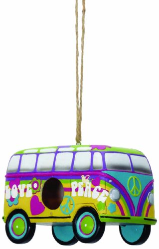 Spoontiques Love Bus Birdhouse