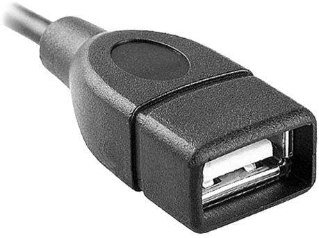 PRO OTG Cable Works for ROKU Express Right Angle Cable Connects You to Any Compatible USB Device with MicroUSB Cable!