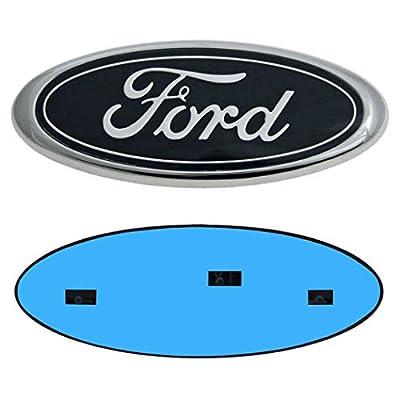 9inch Ford Emblem, Ford Front Grille Emblem F150 Emblem Ford Tailgate Emblem Oval 9