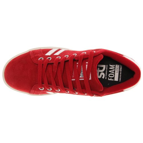 Emerica THE LEO 6102000065 - Zapatillas de skate de ante para hombre Rojo