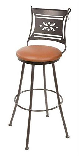 Sedona Bistro - Bistro Barstool, 30 in. Prem. Faux Leather in Emu Sedona