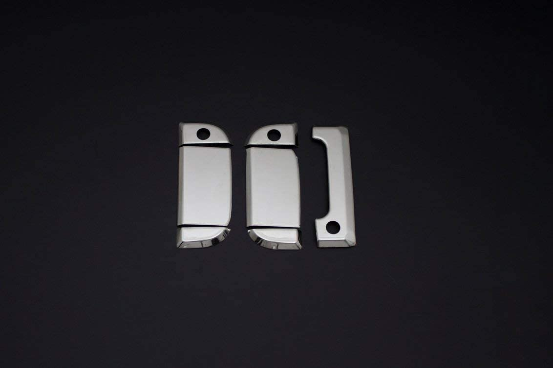 3Door 7 Pcs for TRANSPORTER T4 1995-2003 Stainless Steel CHROME Door Handle Cover Left/&Right Right Handed Driver