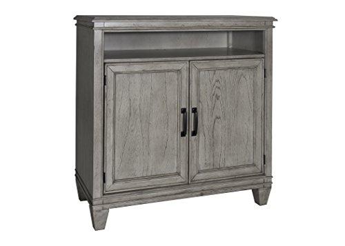 Liberty Furniture Grayton Grove Bedroom Media Chest, Driftwood Finish