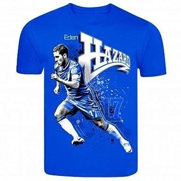 huge discount c32f3 40b60 Chelsea FC Eden Hazard Belgian Superstar T-Shirt 1