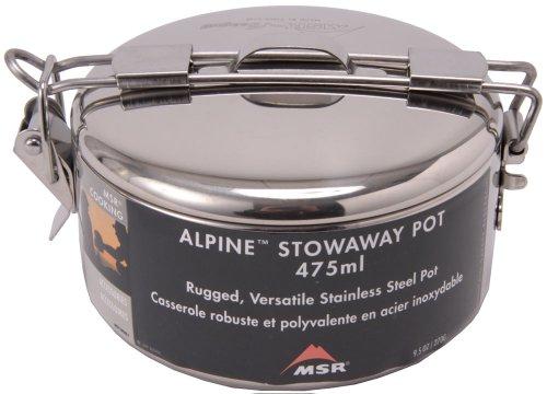 MSR Alpine Stowaway Pot, 475 mL
