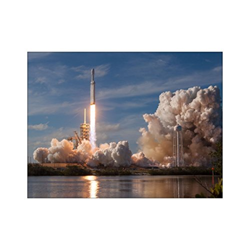 Shop Shop Usa Falcon Heavy Cape Canaveral Launch Poster