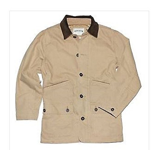 Orvis Men's Corduroy Collar Cotton Barn Jacket (Medium, S...