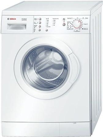 bosch wae28167gb classixx 6kg 1400rpm freestanding washing machine rh amazon co uk Bosch Cookers White Bosch Refrigerator