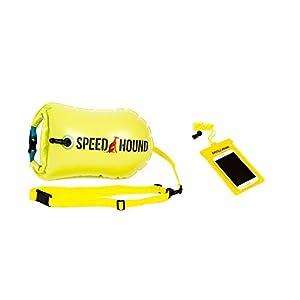 Triathlete's #1 Choice! Speed Hound Swim Buoy (Highlighter Yellow, X-Large 28L)