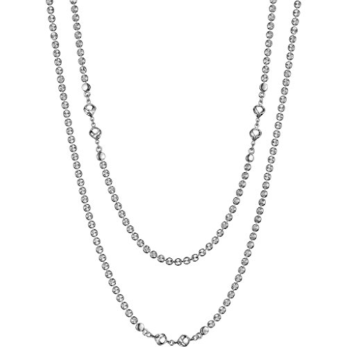 Di MODOLO Diamante 42'' Necklace in Sterling Silver by Di MODOLO MILANO