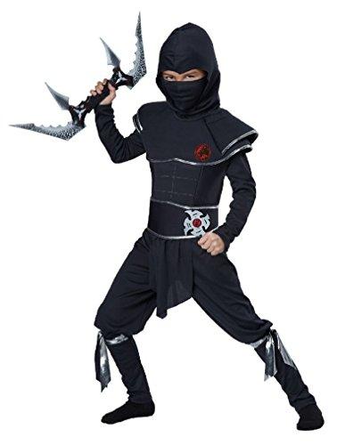 Fancy (Red Skull Warrior Ninja Child Costume)