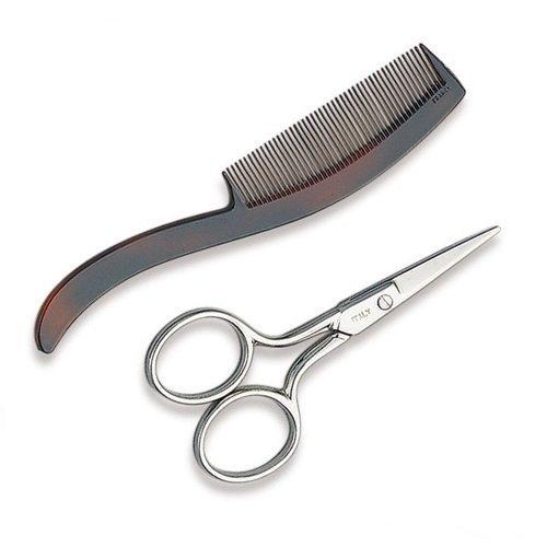 Ultra Mustache Scissors & Comb by Ultra