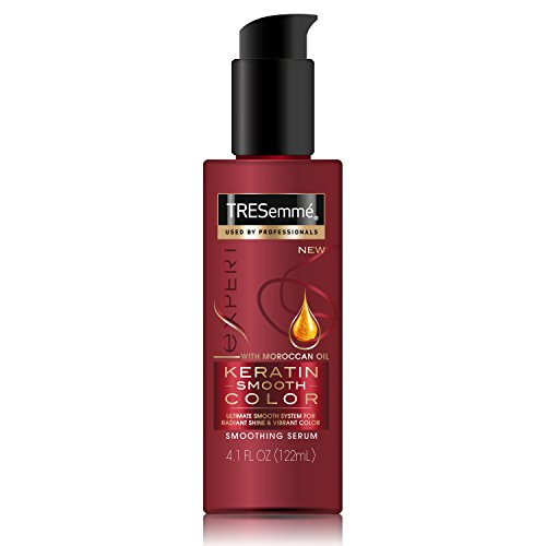 Tresemme Expert Selection Keratin Smooth, Color Hair Serum, 4.1 Ounce (Pack of 6)