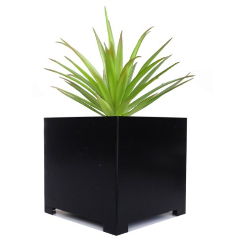 Alora Cube Planter - XL - Black - 23'' x 23'' x 23'' by NMN Designs