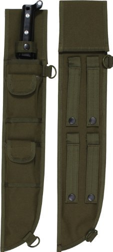 18 INCH MOLLE COMPATIBLE MACHETE SHEATH-OD Model: -