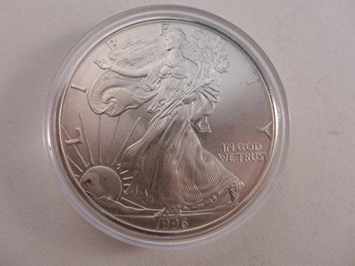 1996 American Eagle not perfect condition Dollar Nearly Mint - Coin American Eagle Silver 1996