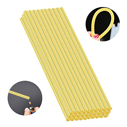 PDR Glue Sticks FLY5D 15PCS Automotive Paintless Dent Removal Tool kit Yellow Glue Sticks (Best Pdr Glue Sticks)