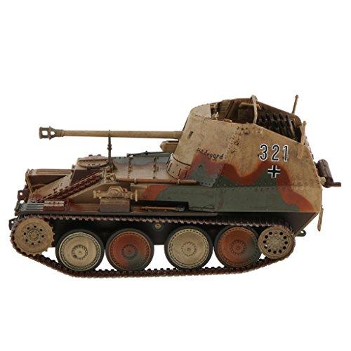 - MagiDeal 1/32 Scale Diecast Tank WWII Germany MARDER III MSD.KFZ 139 Tank Model Toys
