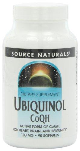 Source Naturals Ubiquinol CoQh 100 mg, 90 gélules