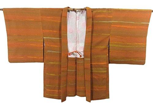 リサイクル 羽織 段文 正絹 裄65cm 身丈79cm
