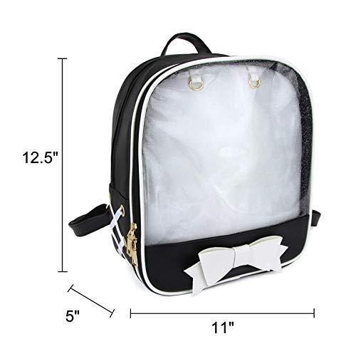 SteamedBun Ita Bag Candy Backpack Bowknot Kawaii Window Bag