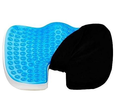 Amazon.com: Cojín de asiento de gel mejorado - Gel ...