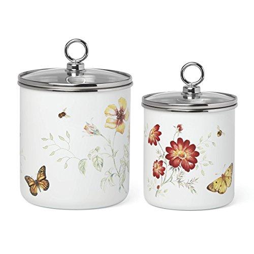 - Lenox 878767 Butterfly Meadow Enamel Canister Set