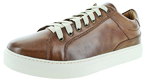 Donald J Pliner Hombres Addo Fashion Sneaker Saddle