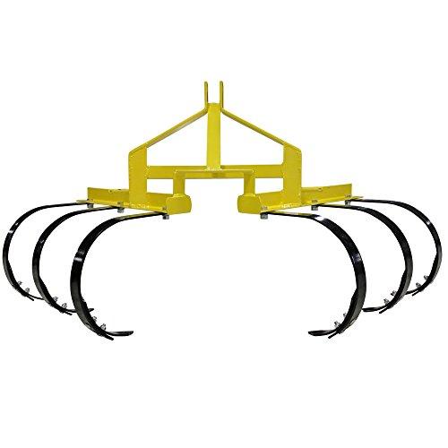 Titan 3 Point Cultivator w/ 6 Spring Steel Shanks - Row Cat