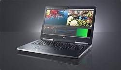 Dell Precision M7710 17.3 INCH 1080P FHD Intel Core I7-6820HQ 16GB RAM 500GB HDD FIREPRO W5170M 2GB WIN 10 Professional (Certified Refurbished)