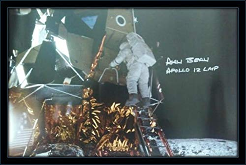 Alan Bean Authentic Autograph with Certificate of Authenticity (Alan Bean Autograph)