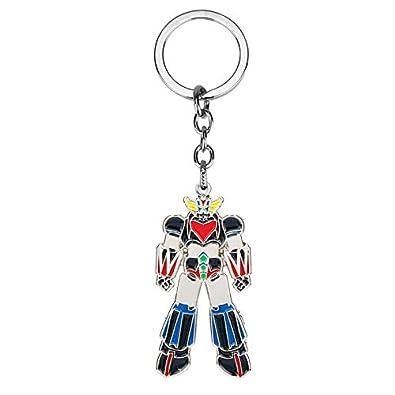Amazon.com: Mazinger Z Ufo Robot Grendizer Keychain Ufo Robo ...