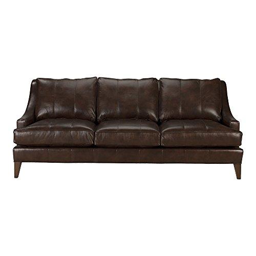 Ethan Allen Emerson Leather Sofa, 90