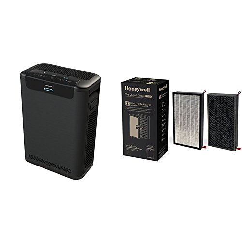 Honeywell HPA600B Professional Series True HEPA Air Purifier with TRUE Hepa Replacement Filter Kit, Hrf-Z2