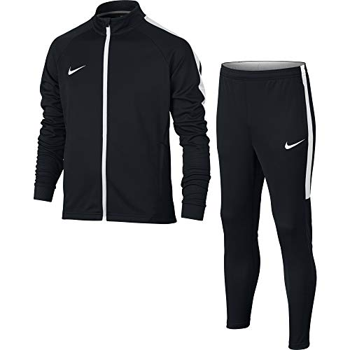 NIKE Dry Academy Older Kids' Football Track Suit (L, Black/White) by Nike (Image #3)