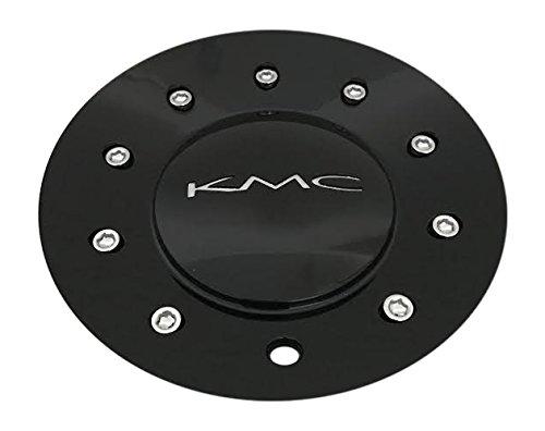 KMC 677 D2 496L170 Gloss Black Center (Kmc Wheel Caps)