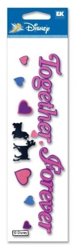 2gether 4ever 3d Sticker Title