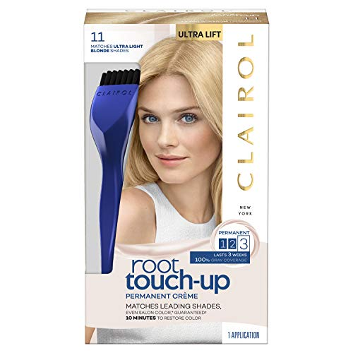 Clairol Root Touch-up, Permanent 11 Ultra Light Blonde, 2 Count ()