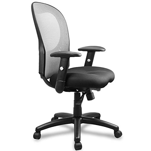 Becozier Ergonomic Mesh Office Chair with Breathable Mesh-Thick Seat Cushion-Flip Up Arms,Adjustable Desk Chair, Swivel Desk Chairs for Office Conference Room
