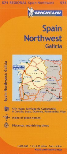 Michelin Spain: North, Basque Country, Navarra, La Rioja Map 573  (Maps/Regional (Michelin)) by Michelin Travel & Lifestyle (2012-04-16)