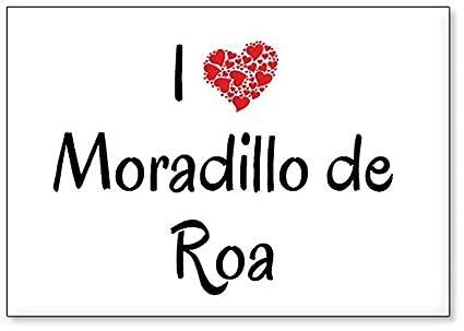 Mundus Souvenirs - Amo Moradillo de ROA, Imán para Nevera (diseño ...