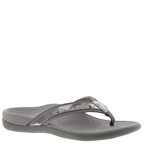 71a9e0346 Galleon - Vionic Womens Tide II Sandal Grey Floral Size 8