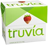 Truvia Natural Sweetener, 40-Count Boxes (Pack of 6)