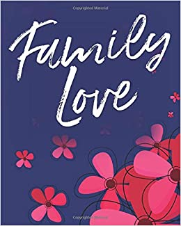 Family Love: Moms Agenda, Planner and Organizer - Undated ...